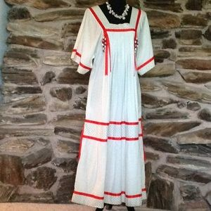 "Dresses & Skirts - Vintage custom "" one of a kind ""summer dress"